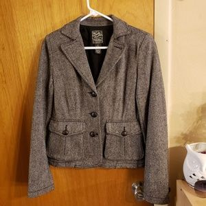 Lucky brand wool 3 button blazer